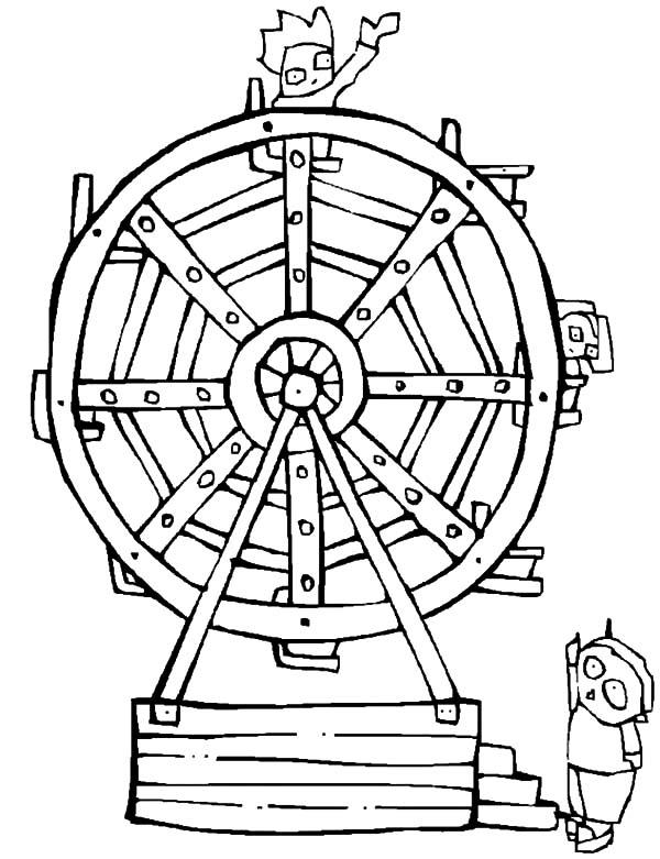 600x781 Ride Ferris Wheel