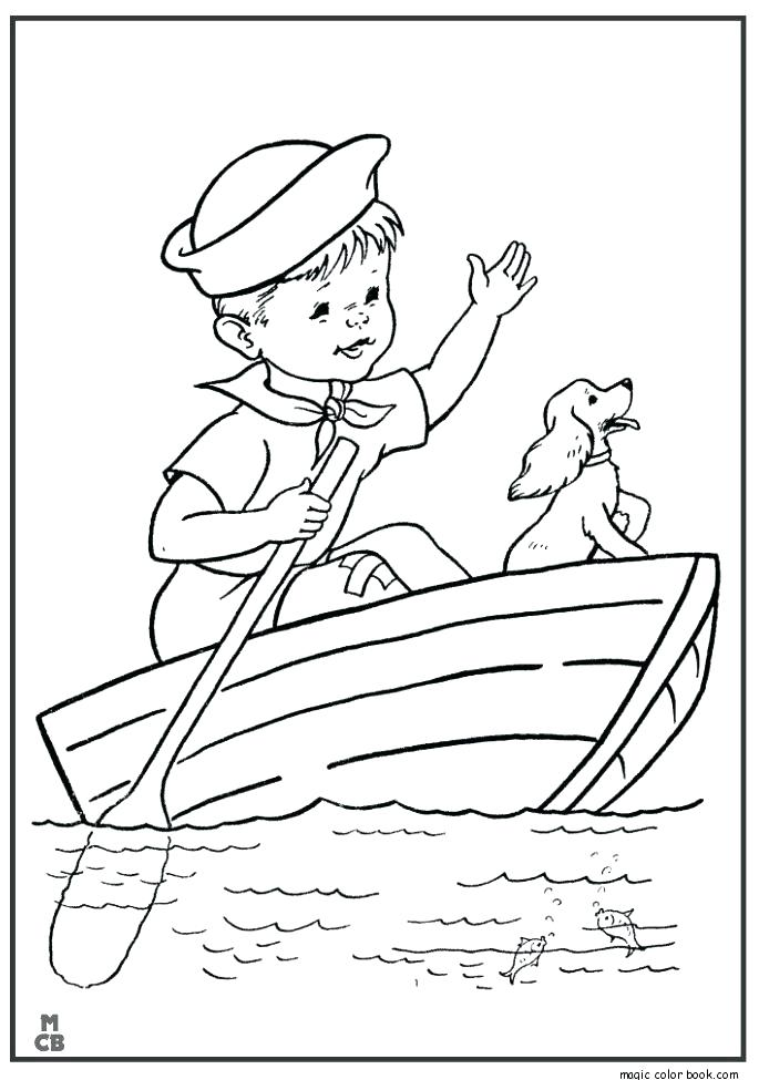 685x975 Boat Coloring Boat Coloring Pages Boat Safety Coloring Book Boat