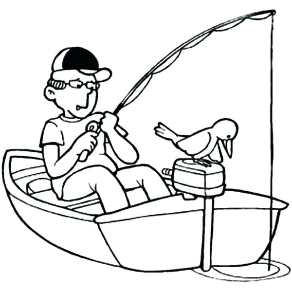 600x600 Boat Coloring Page Boat Coloring Page Fishing Boats Boat On Little