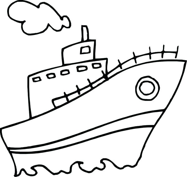 600x568 Speed Boat Coloring Pages Pirate Boat Coloring Page Speed Boat