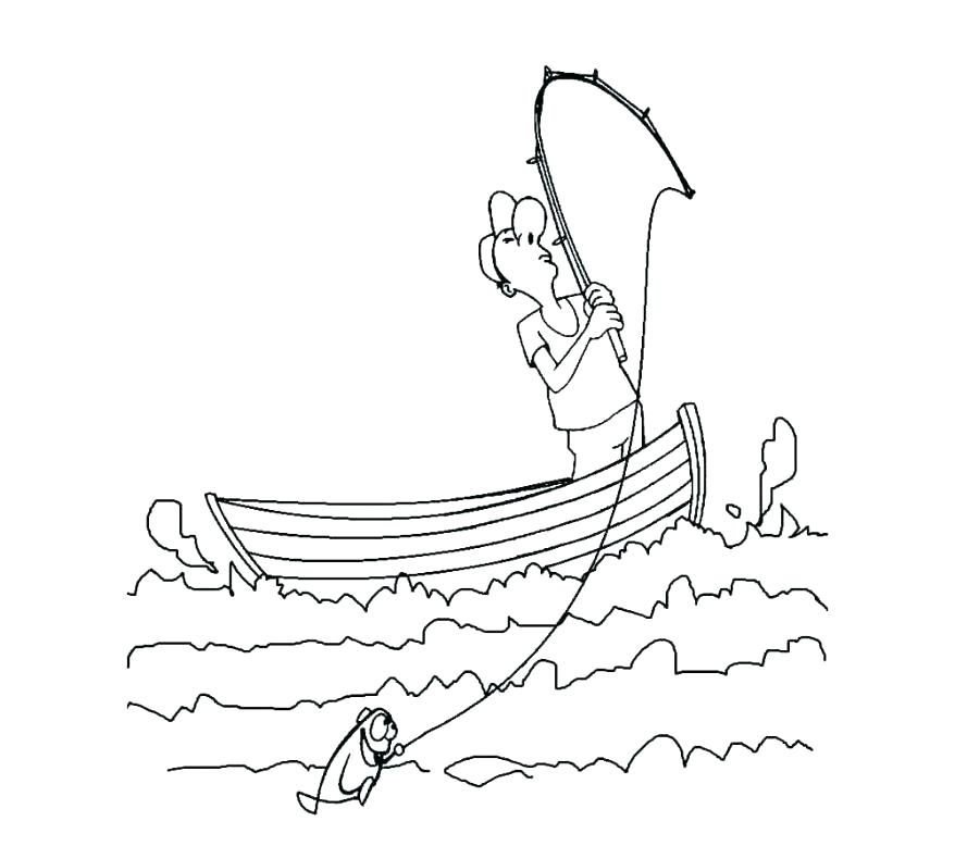 878x778 Boat Pictures To Color Free Boat Coloring Pictures