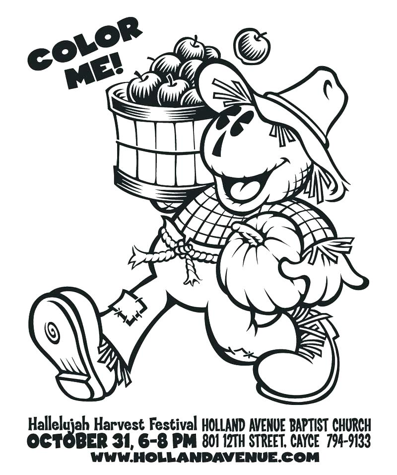 800x956 Fall Festival Coloring Pages Fall Festival Coloring Pages Harvest