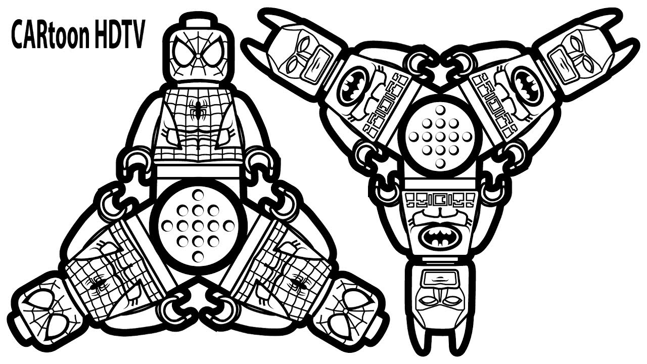 Fidget Spinner Coloring Pages At Getdrawings Com Free For Personal