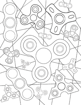 270x350 Coloring Page Bundle Growth Mindset And Fidget Spinners!