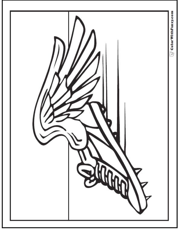 Field Coloring Page