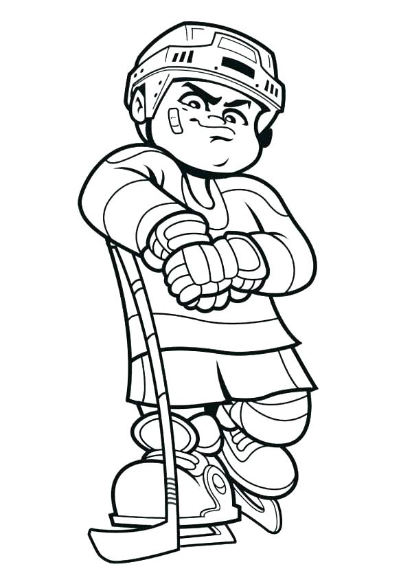 600x847 Hockey Coloring Pages Hockey Team Match In Field Hockey Coloring