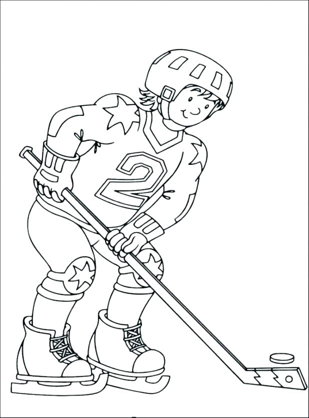 618x834 Coloring Pages Hockey Hockey Coloring Pages In Addition To Hockey
