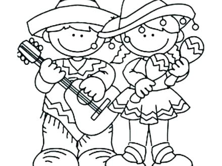 440x330 Fiesta Coloring Pages Pinata Coloring Page Fiesta Coloring Pages