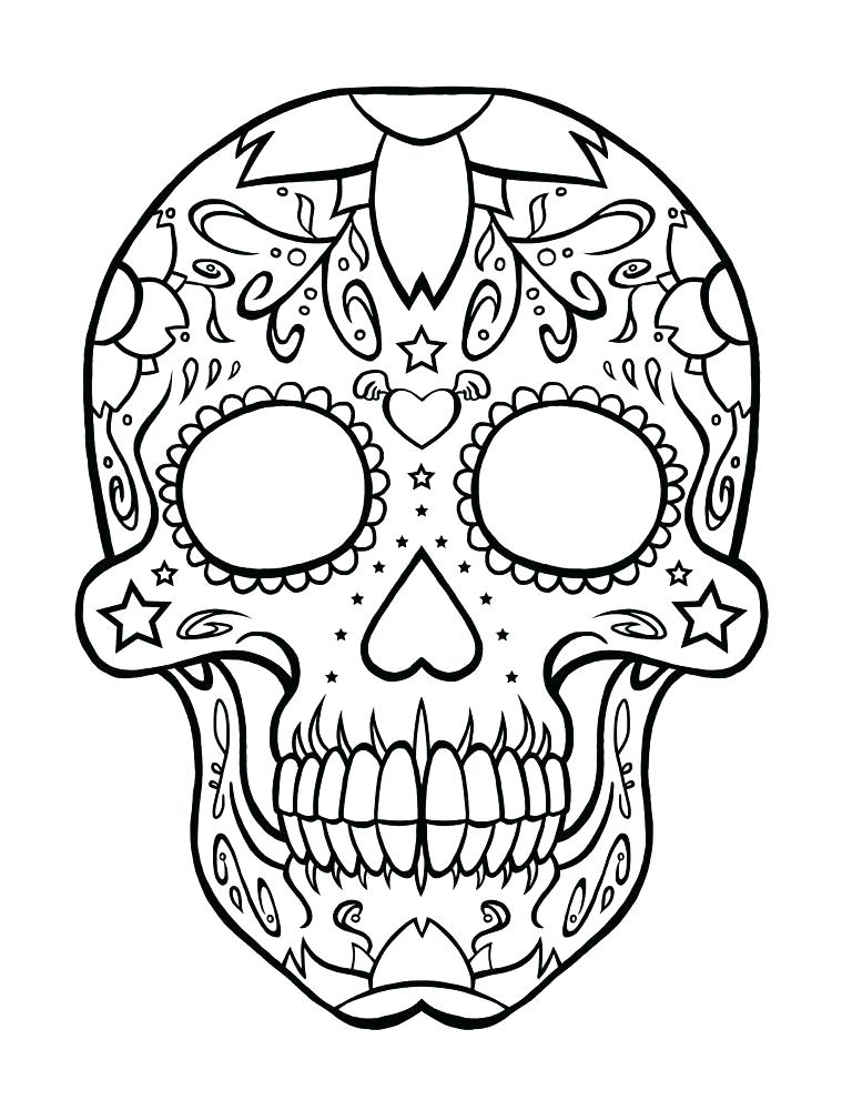 759x1000 Fiesta Coloring Pages Skull Coloring Pages And Book Skull Coloring