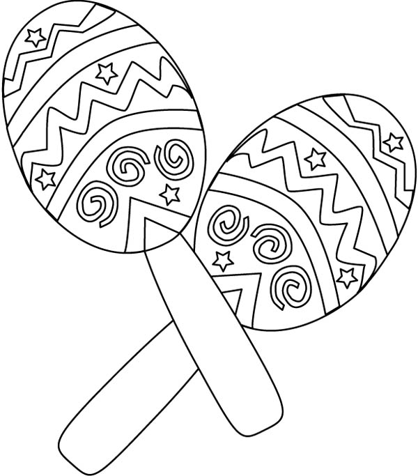 600x683 Fiesta Coloring Pages Breathtaking Mexican Coloring Pages