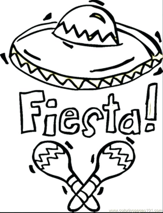 564x734 Fiesta Coloring Pages Hispanic Heritage Coloring Pages Fiesta