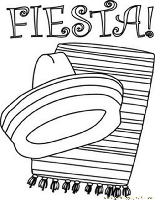 Fiesta Coloring Pages Free Printable At Getdrawings Com