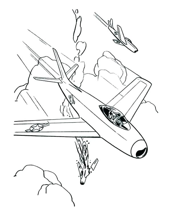 600x734 Fighter Jet Coloring Page Fighter Jet Coloring Page Airplane