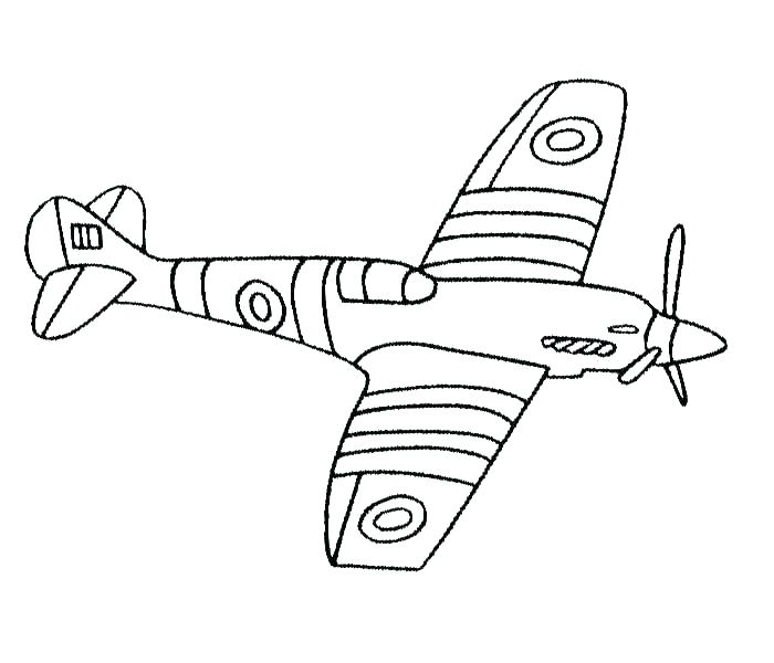 700x600 Fighter Jet Coloring Page
