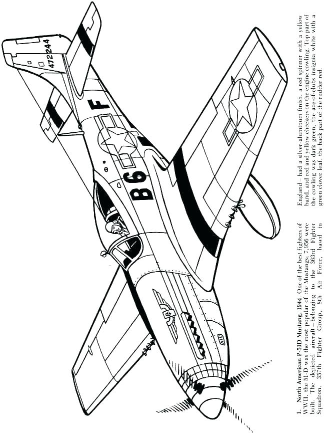 650x864 Military Aircraft Coloring Pages Deepart
