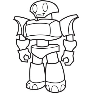 Fighting Robot Coloring Pages At Getdrawings Com Free For Personal