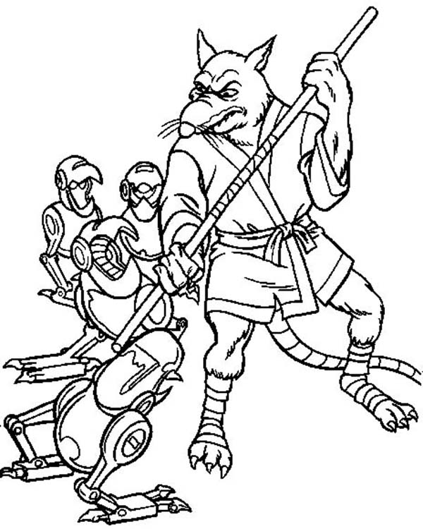 The Best Free Splinter Coloring Page Images Download From 33 Free