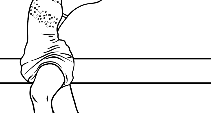 728x393 Kids Ice Skating Coloring Page Figure Skating Coloring Page Free