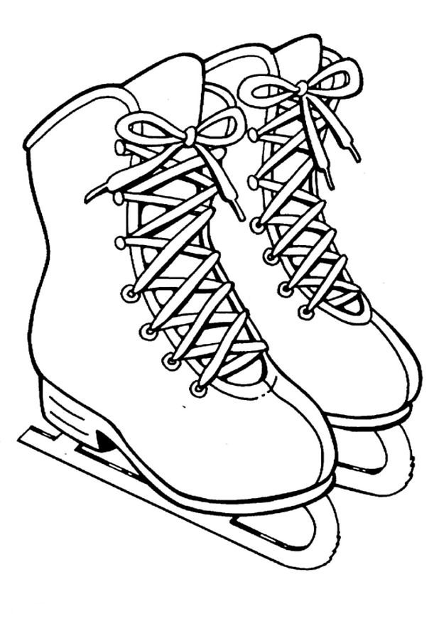 618x874 Kids N Coloring Pages Of Ice Skating