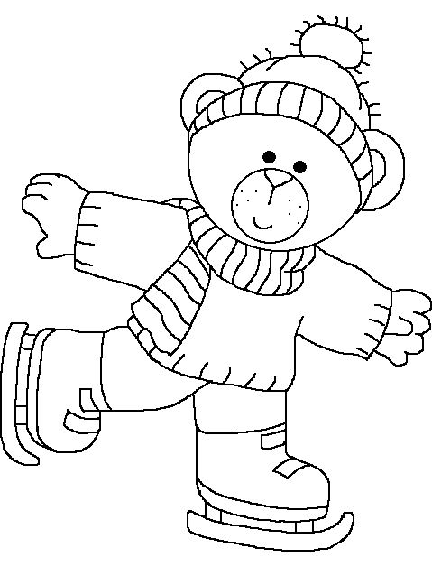 479x648 Best Photos Of Ice Skate Coloring Page