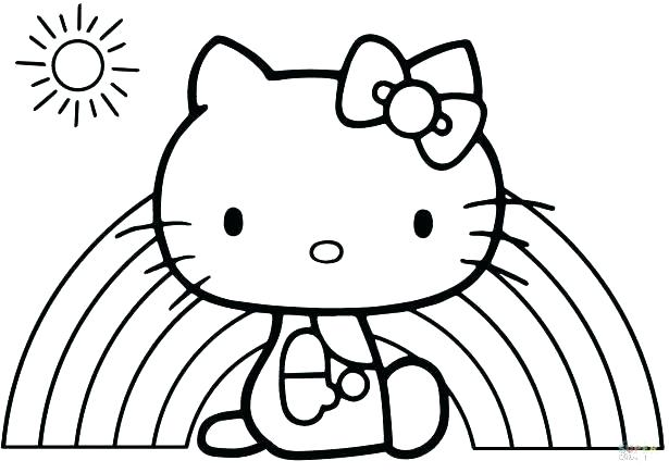 615x435 Hello Kitty Color Pages Hello Kitty Color Book Also Coloring Pages