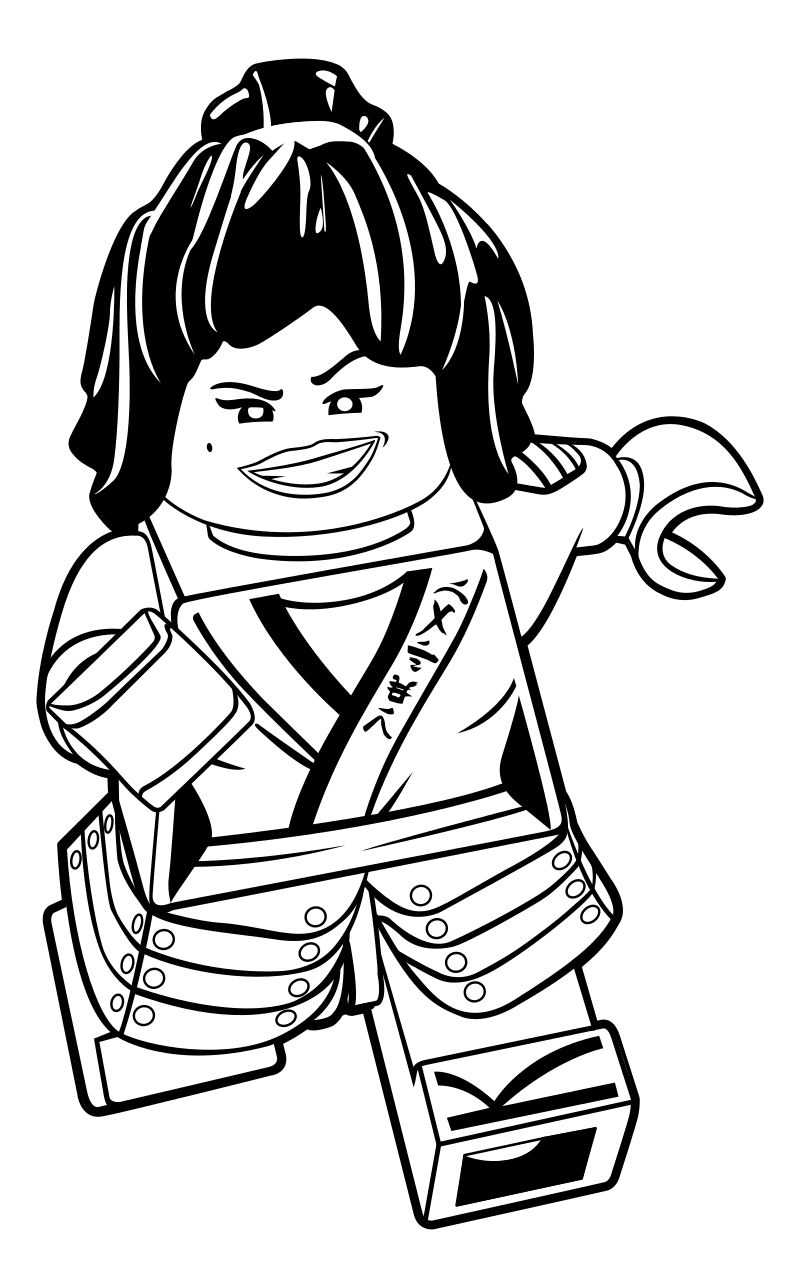 800x1288 Rare The Lego Ninjago Movie Coloring Pages