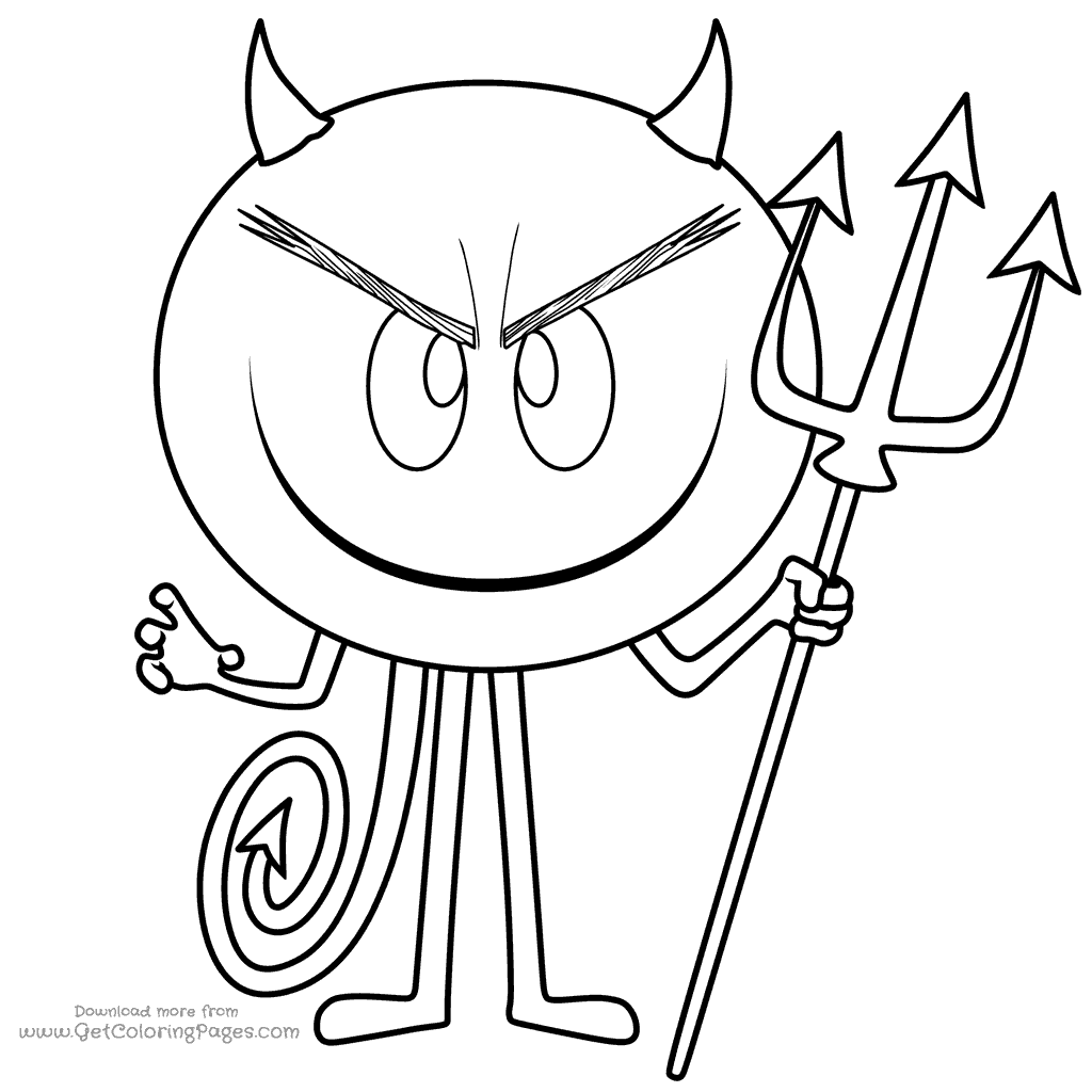 1024x1024 The Emoji Movie Coloring Pages