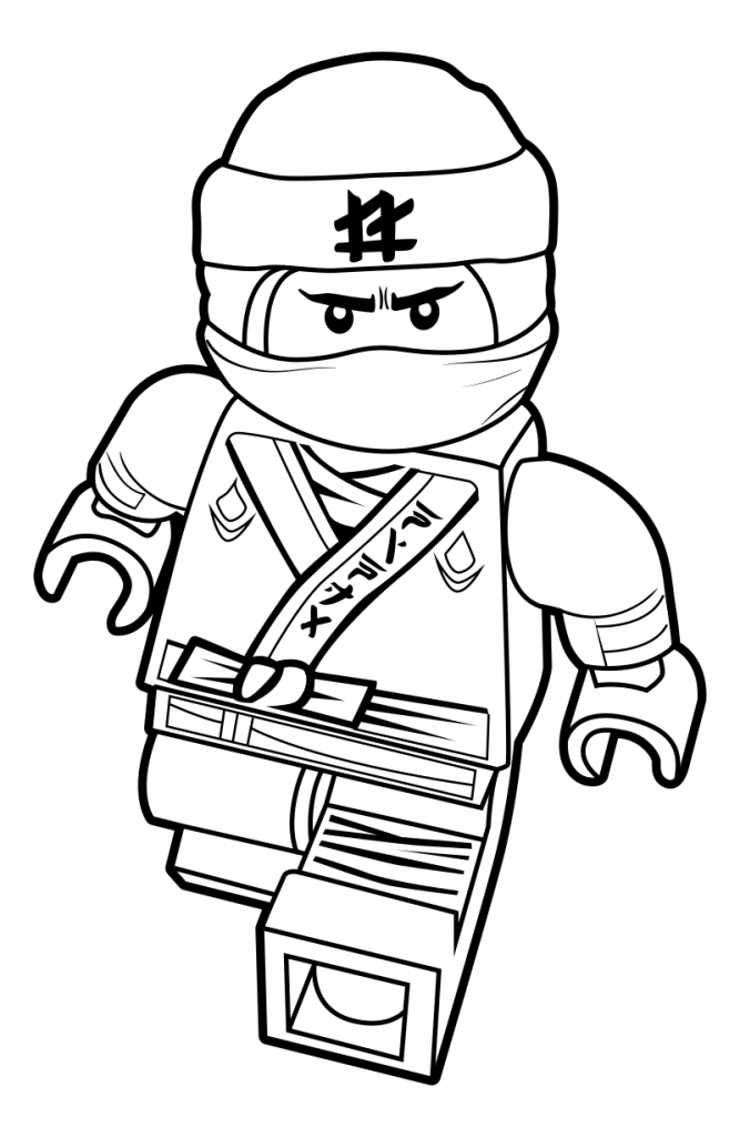 667x1024 The Lego Ninjago Movie Coloring Pages