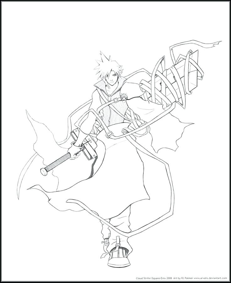 736x903 Final Fantasy Coloring Pages Coloring Pages Adult Coloring Final