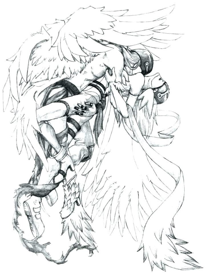 729x960 Final Fantasy Coloring Pages Fantasy Coloring Pages Angel Fantasy