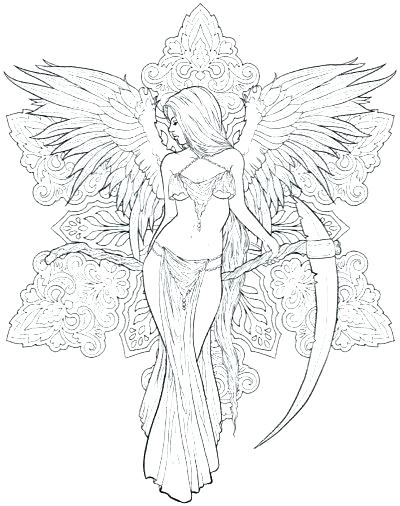 400x506 Final Fantasy Coloring Pages Fantasy Coloring Pictures Adult