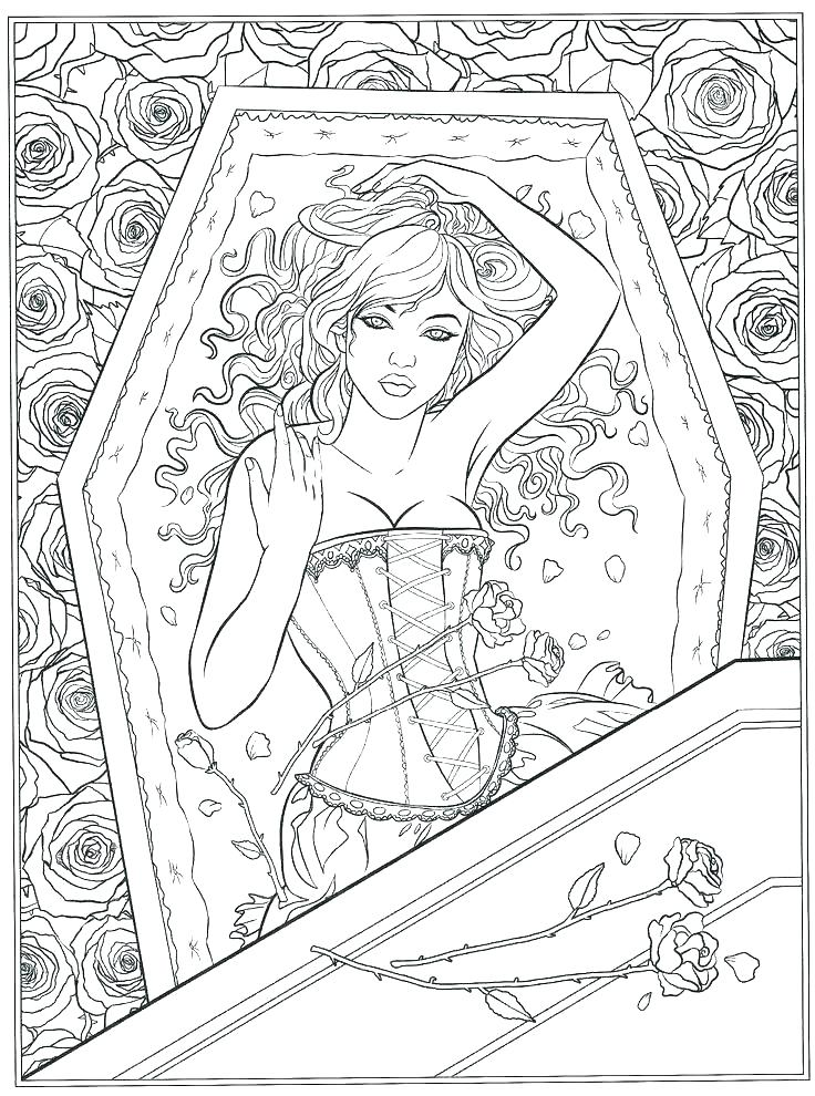 736x990 Final Fantasy Coloring Pages