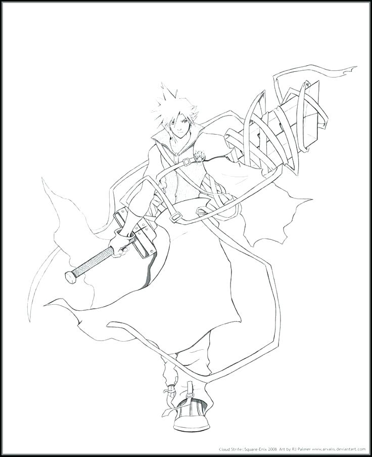 736x903 Final Fantasy Coloring Pages Final Fantasy Coloring Pages Fantasy