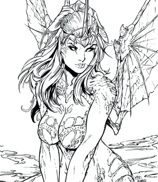 520x600 Adult Fantasy Coloring Pages Fantasy Coloring Pages Adult Fantasy