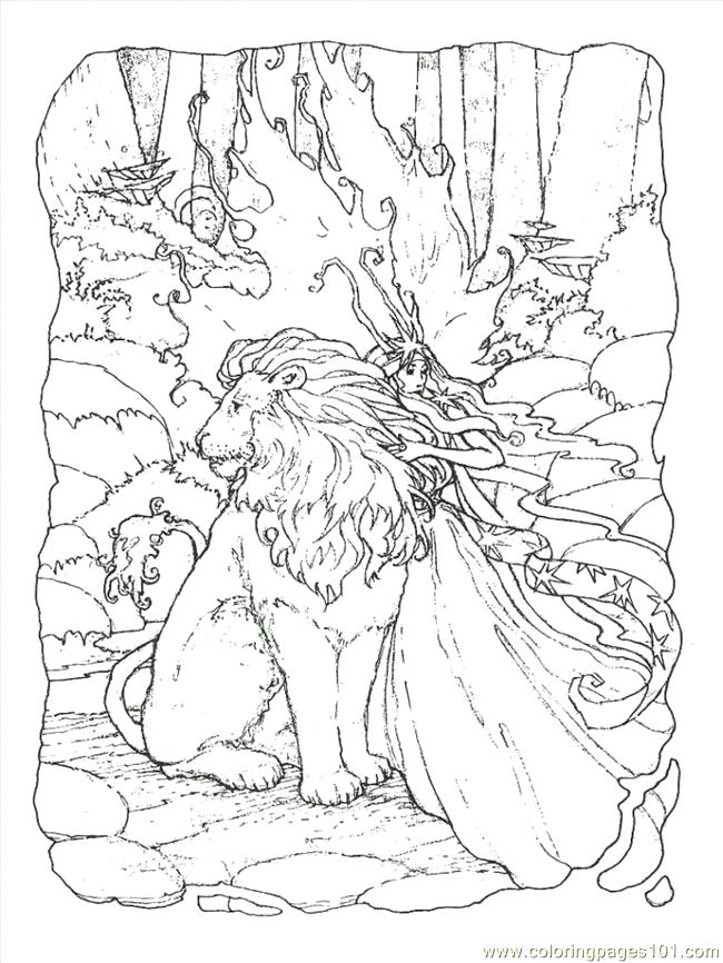 650x866 Fantasy Coloring Pages Fantasy Coloring Pages Coloring Page