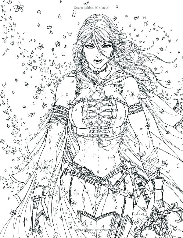 600x781 Fantasy Coloring Pages Final Fantasy Coloring Pages Fantasy