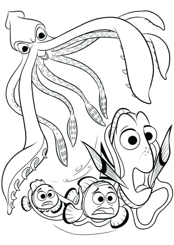 593x832 Finding Dory Coloring Book Also Finding Dory Coloring Pages Heidi