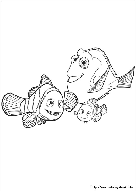 567x794 Finding Dory Coloring Pages On Coloring