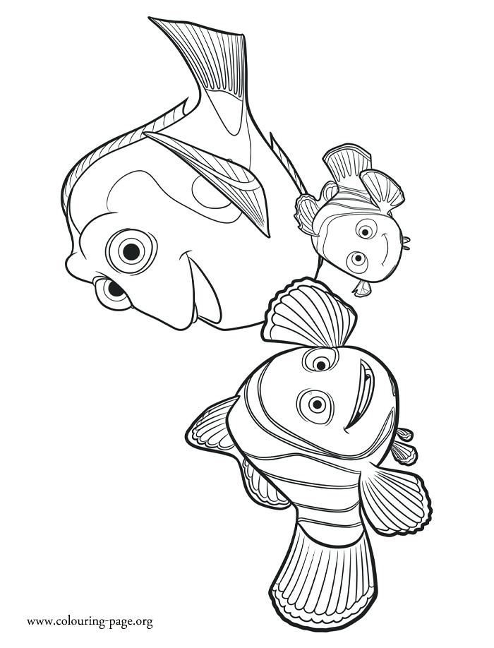 700x918 Finding Nemo Coloring Finding Coloring Pages Free Finding Nemo