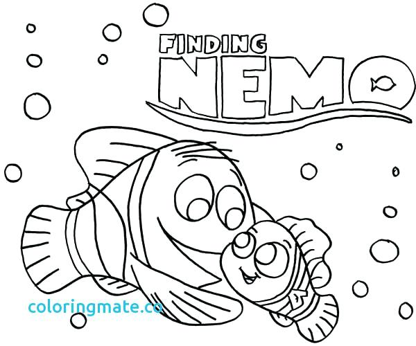 600x500 Finding Nemo Coloring Page Coloring Page Finding Coloring Page