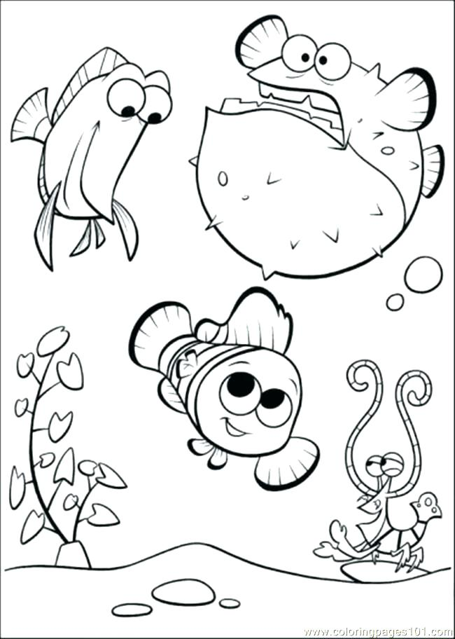 650x912 Finding Nemo Coloring Pages Whale A Dory And From Finding Finding