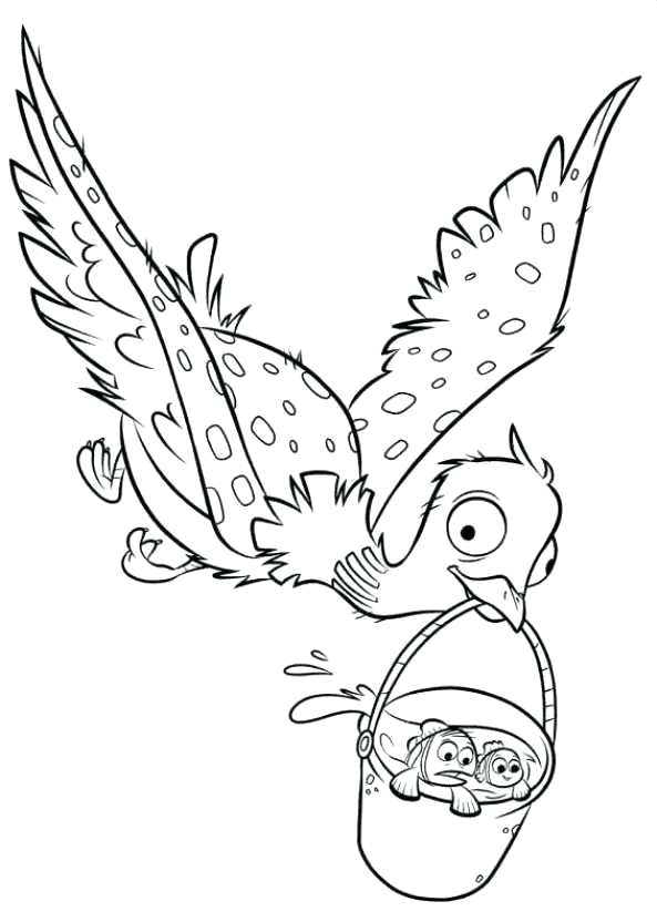 593x832 Ideas Finding Dory Coloring Pages And Finding Dory Coloring