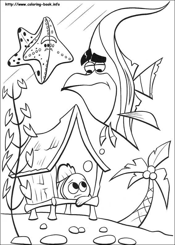 567x794 Finding Nemo Coloring Picture Coloring Book