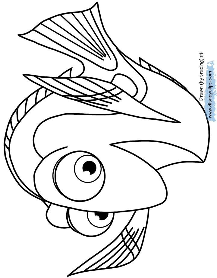 720x920 Dory Coloring Pages Images Free Coloring Pages