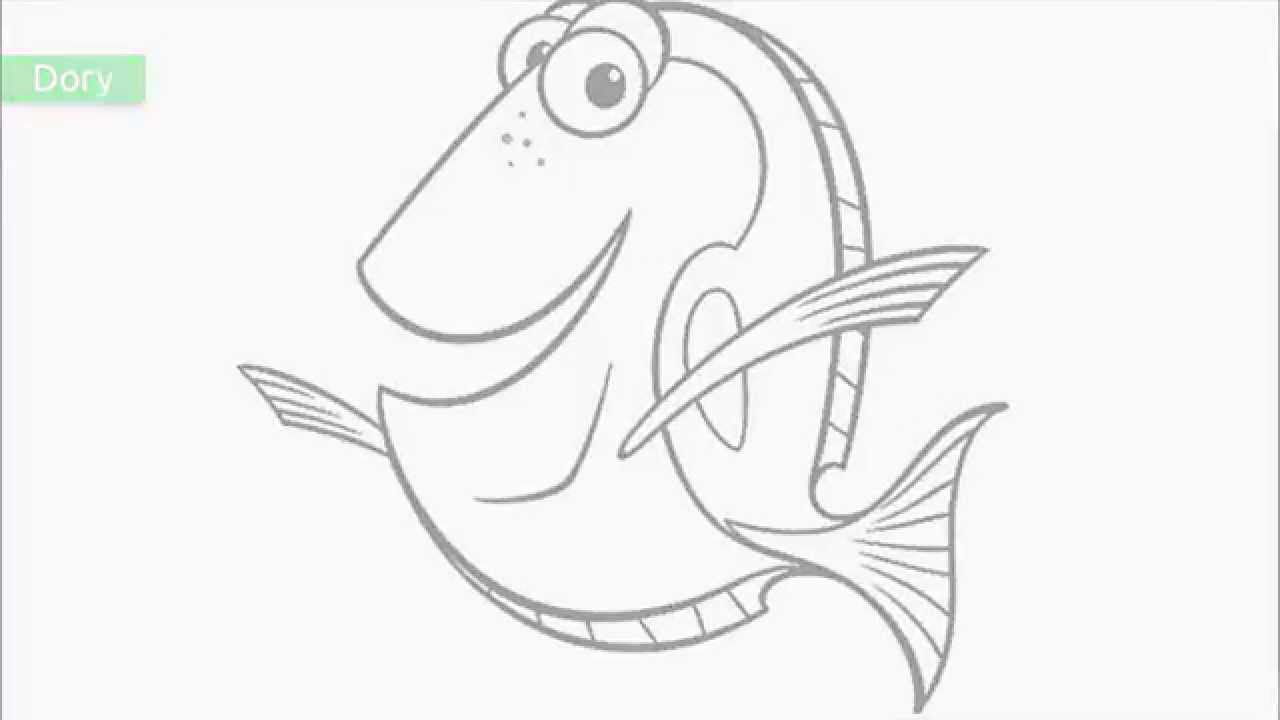 1280x720 Top Free Printable Finding Nemo Coloring Pages