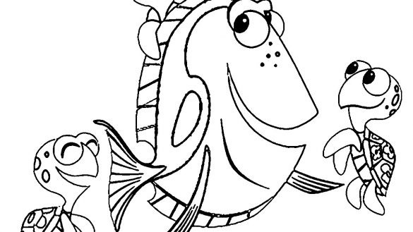 Finding Nemo Coloring Pages