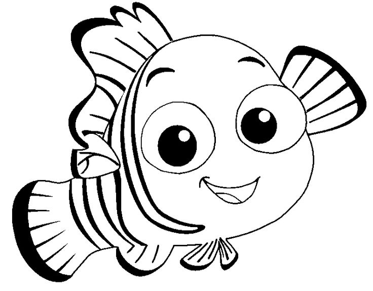 Finding Nemo Coloring Pages at GetDrawings.com | Free for ...