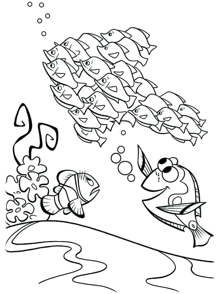 Finding Nemo Coloring Pages at GetDrawings.com | Free for personal ...