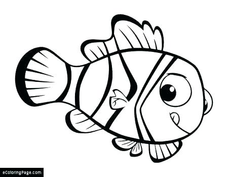 450x348 Finding Nemo Coloring Pages Free Coloring Pages For Girls