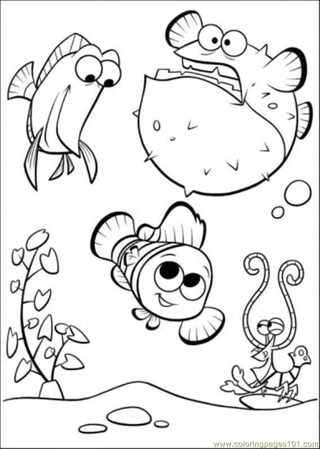 650x912 Happy In Tank Coloring Page